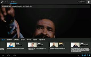 Screenshot of Gold Radio App