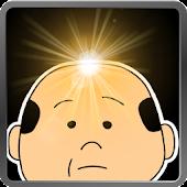 wig man flashlight (LED light)