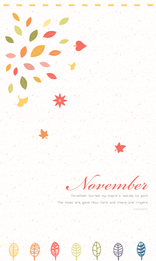 November go launcher theme