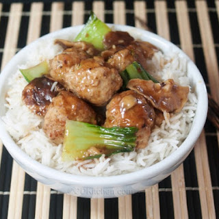 Ginger Meatball Stir-Fry