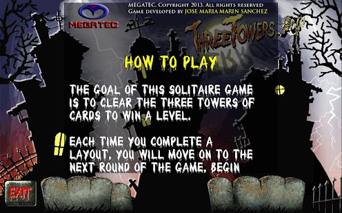 Three Towers Solitaire Ad Free - screenshot thumbnail