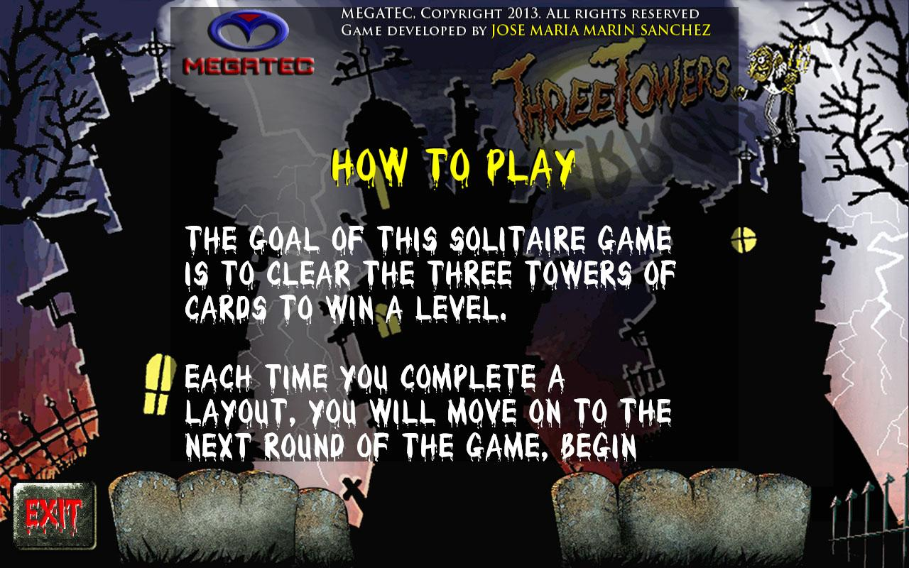 Three Towers Solitaire Ad Free - screenshot