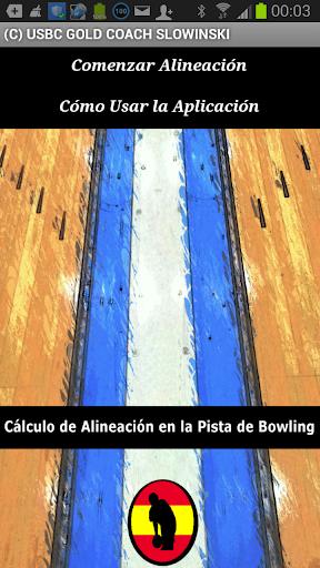 Cálculo de Alineación Bowling