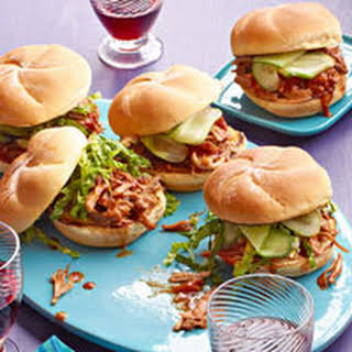 Cola Pulled Pork Sandwiches.