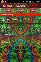 Screenshot of GO SMS PRO Theme Magic Mosaic