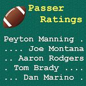 Quarterback Passer Ratings
