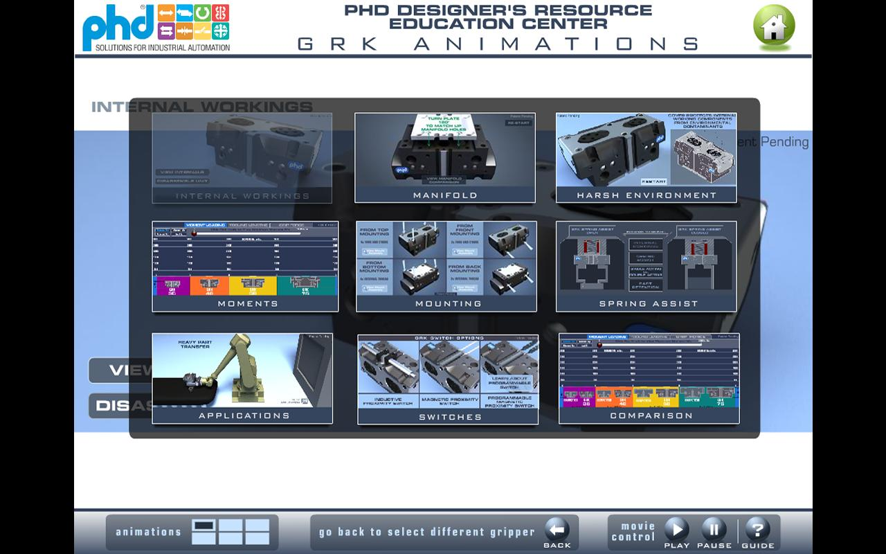 PHD Education Center - screenshot
