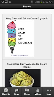 Ice Cream Recipes - screenshot thumbnail