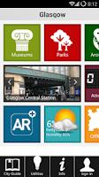 Screenshot of Glasgow Travel - Pangea Guides