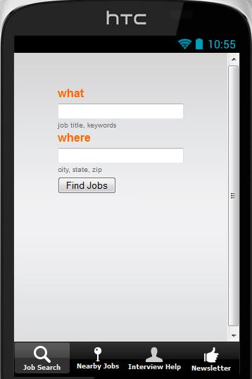 Job Search Finder - screenshot