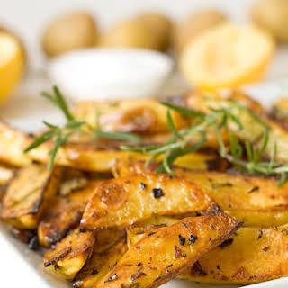 Rosemary and Garlic Roasted Potatoes.