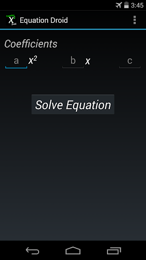 Equation Droid