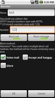 Screenshot of Blacklist Free