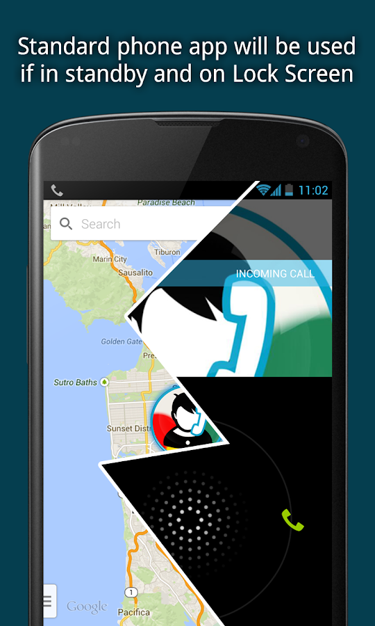CallHeads - phone call app - screenshot