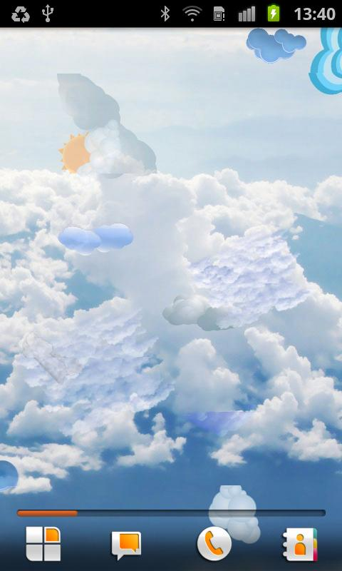 Cloud Live Wallpaper - screenshot