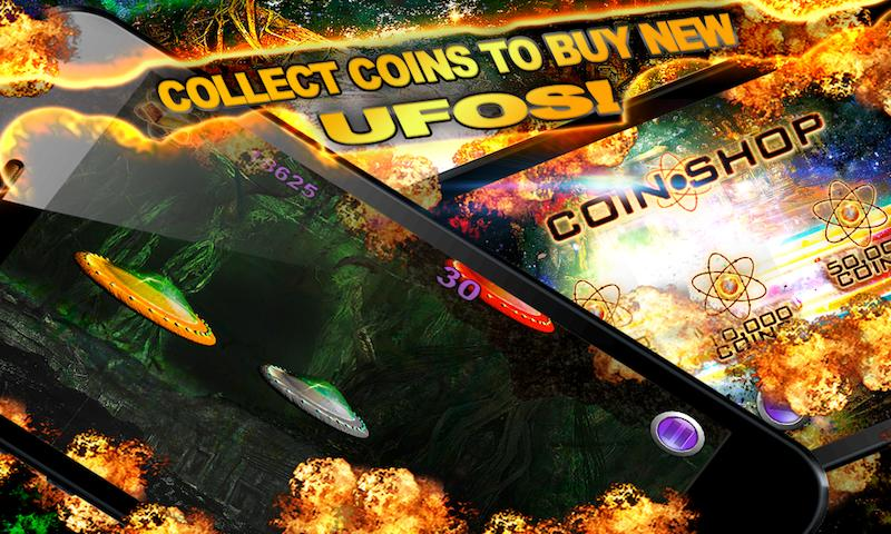 UFO Temple Wars Free Racing - screenshot