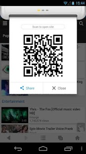 QR Code Generator - UC Browser- screenshot thumbnail
