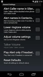 Talk Caller Name PRO v2.2.3