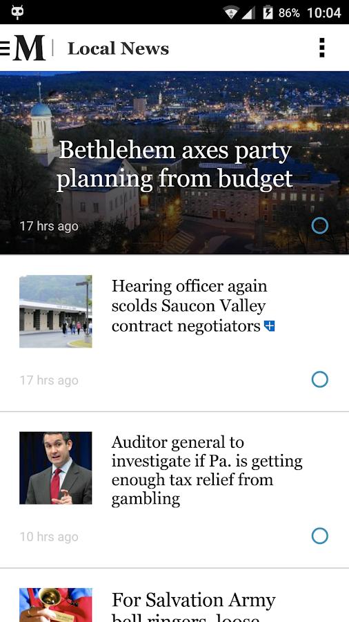 Allentown - Morning Call - screenshot