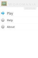 Screenshot of Wordmania