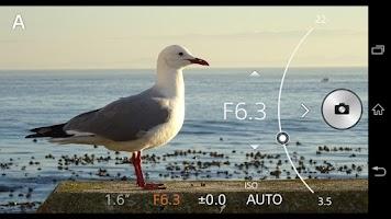 Screenshot of Remote app:PlayMemories Mobile