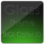 BIG! Caller ID THEME Glass