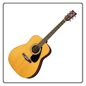 AfinaLou Acoustic Guitar Tuner icon