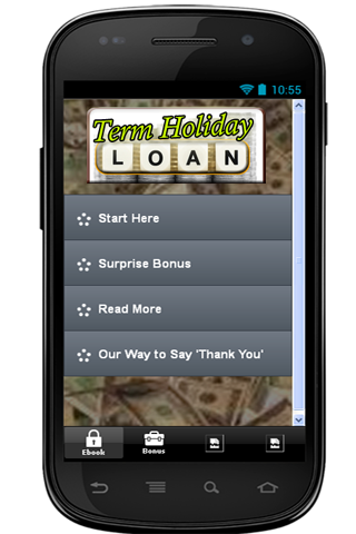 Term Holiday Loans