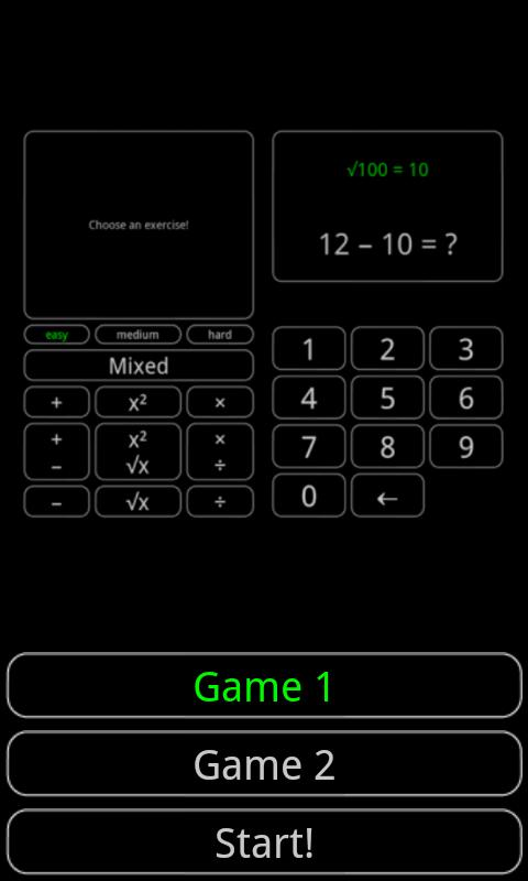 Tiny Math Game Pro- screenshot