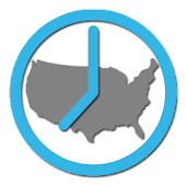 US Timezones clock
