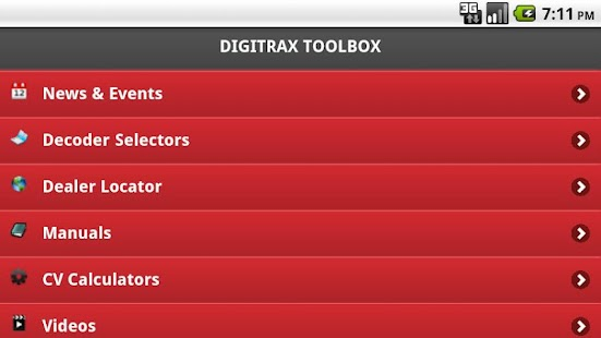 Digitrax Tool Box - screenshot thumbnail