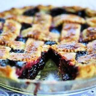 Boysenberry Pie.
