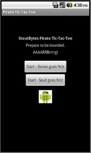 Pirate TicTacToe- screenshot thumbnail