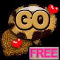 GO SMS PRO Leopard theme YLOW icon