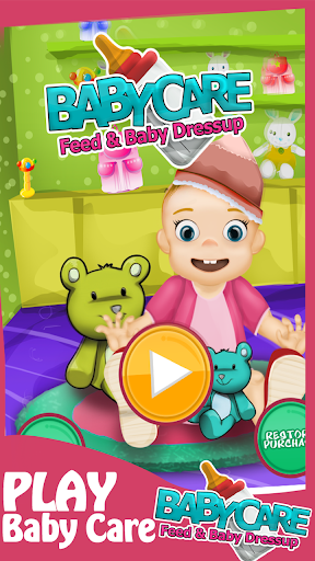 Baby Care Feed Baby Dressup