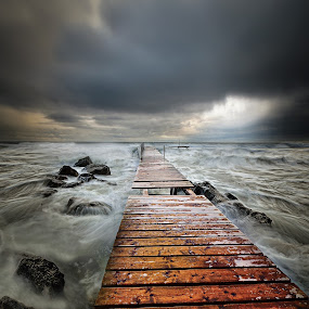 Winter sea by Явор Янев - Landscapes Beaches