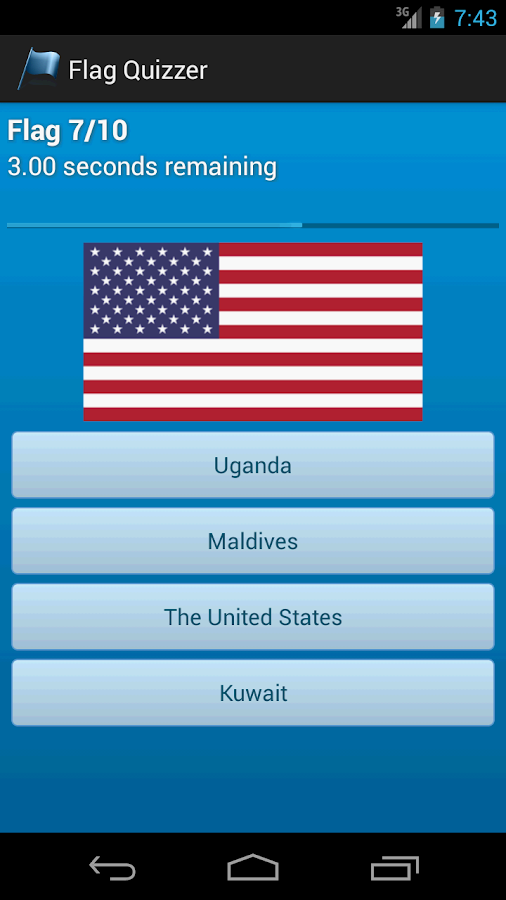 Flag Quizzer- screenshot