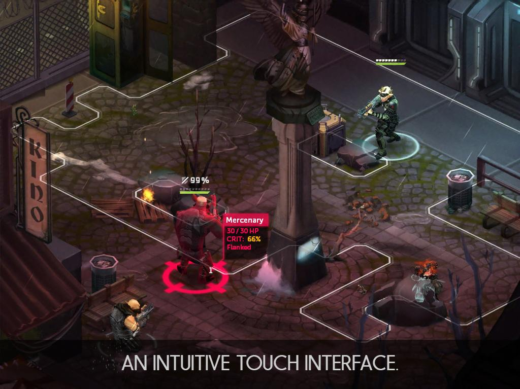 Shadowrun: Dragonfall - DC- screenshot
