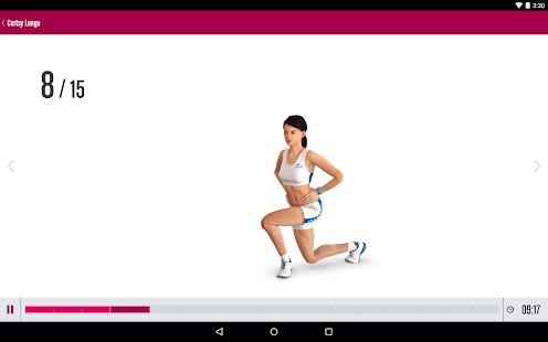 Runtastic Butt Trainer Workout - screenshot thumbnail