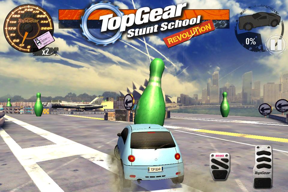 Top Gear: Stunt School SSR screenshot #16