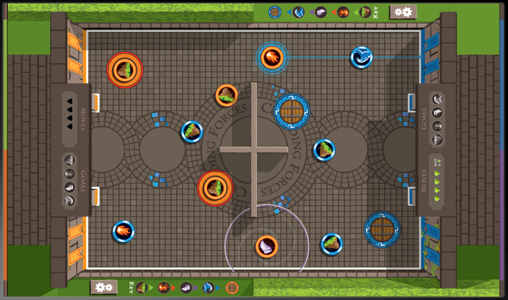 Colliding Forces- screenshot