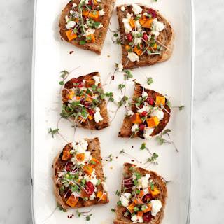 Sweet Potato & Feta Crostini Recipe