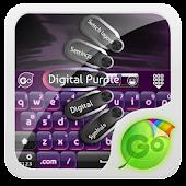 Digital Purple GO Keyboard