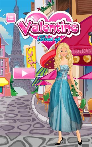 Valentine Dress Up Games
