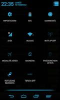 Screenshot of Blue Infinitum Theme - Light
