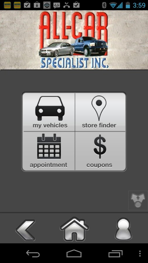 All Car Specialists - screenshot