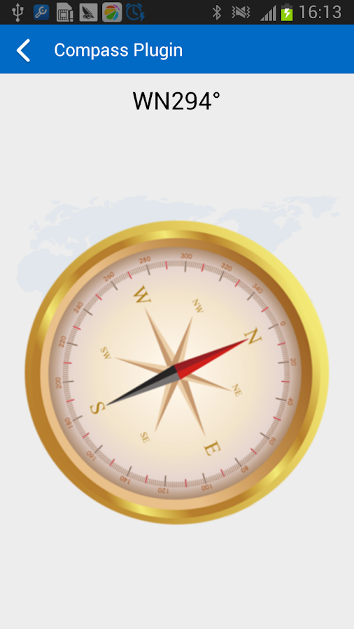 Compass Plugin- screenshot