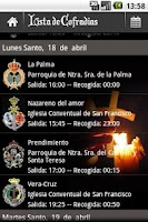 Screenshot of Holy Week Guide