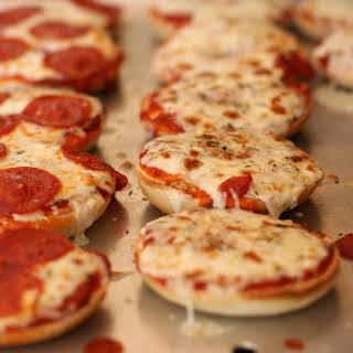 Oven Fresh Pizza Bites.