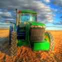 Tractors Live Wallpaper icon